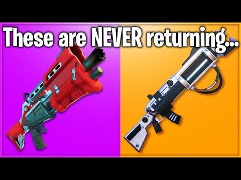 7 Items Epic Games REMOVED From Fortnite: Battle Royale