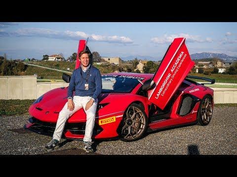The Lamborghini Aventador SVJ is INSANE! w/OPPO FindX [Sub ENG]