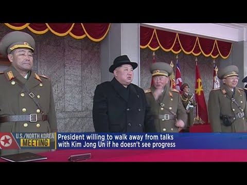 Trump Willing To Walkway From Talks With North Korea