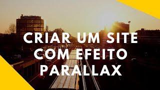 Como criar um site do zero | efeito parallax