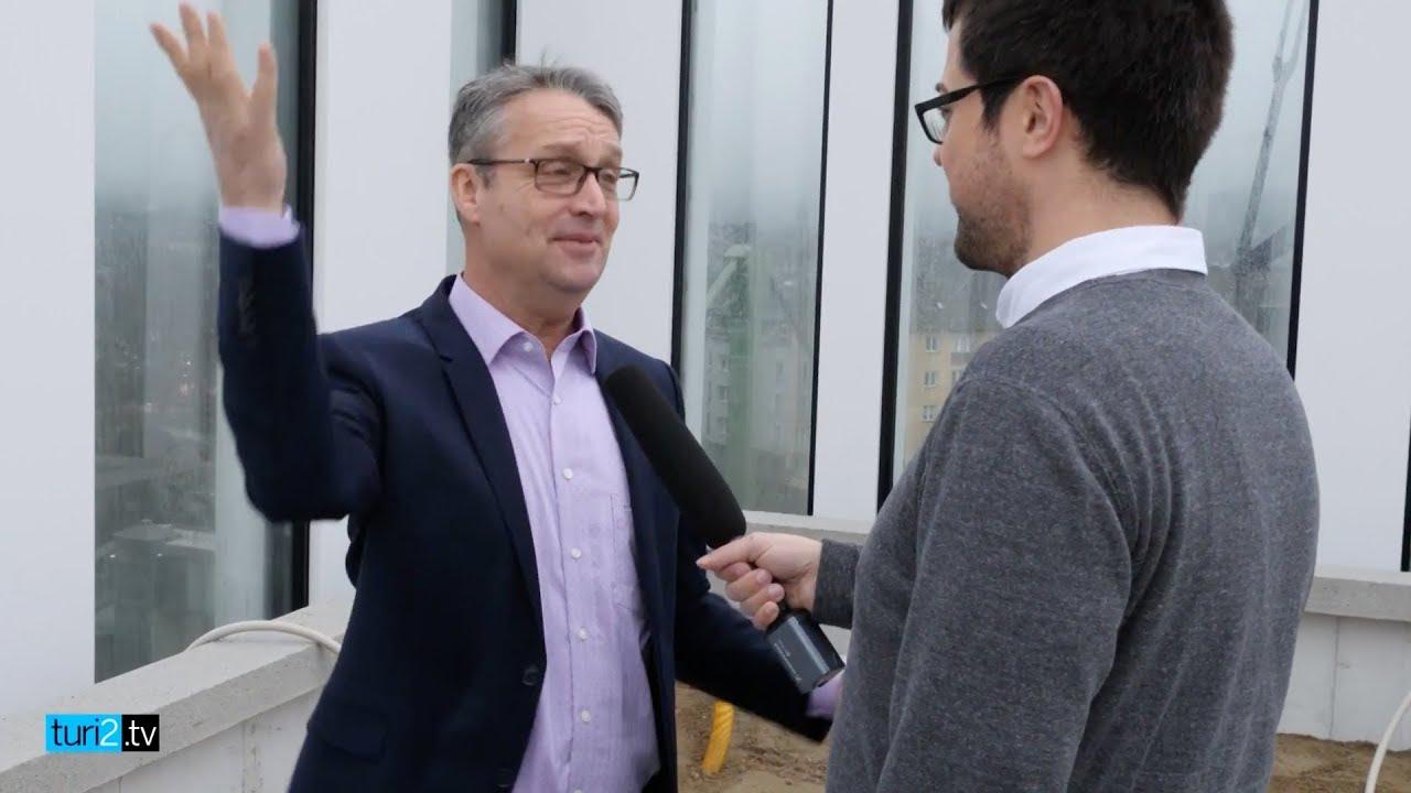 """Gabor Steingart zeigt die Zentrale von """"Handelsblatt"""" und """"Wirtschaftswoche"""""""
