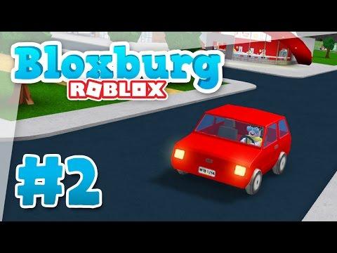 Bloxburg #2 - THAT NEW CAR SMELL (Roblox Welcome to Bloxburg)