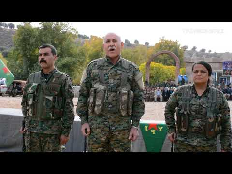 The 8. Military Regiment of YPG was formed in #Afrin