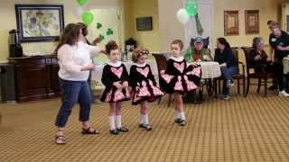 Irish Dance Light Jig Performance and Costume Explanation