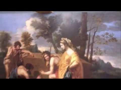 Les Bergers d'Arcadie de Nicolas Poussin par Ollivier Ruca