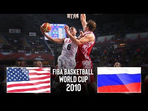 USA 🇺🇸 v Russia 🇷🇺 - Classic Full Game | FIBA Basketball World Cup 2010