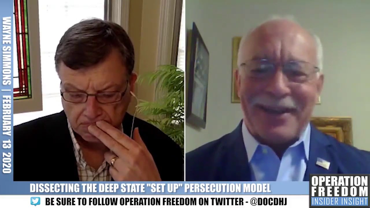 Part 2: Wayne Simmons: Dissecting The Deep State Set-Up Model - Operation Freedom