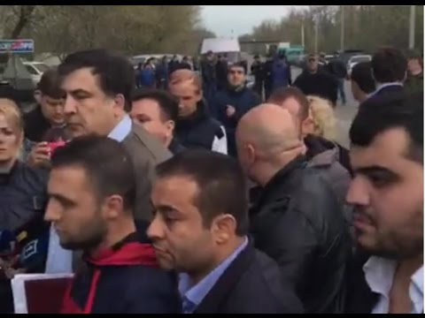 Саакашвили разборки с мафией Украины в Одессе полное видео