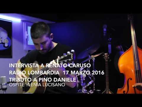 Intervista Radio Lombardia Renato Caruso ospite Ylenia Lucisano 17 marzo 2016