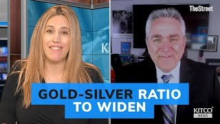 That gold-silver ratio will widen even more warns analyst