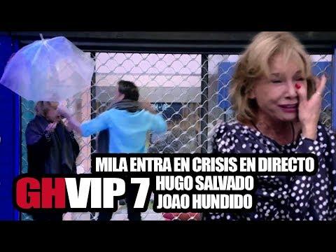 GHVIP 7- Mila estalla en un increíble Gala en la que Hugo ha sido salvado