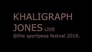 KHALIGRAPH JONES performing Yego live @Sportpesa festival 2016