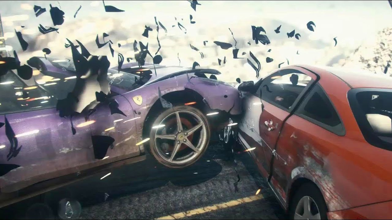 amazing car crashes need for speed rivals on ps4 youtube