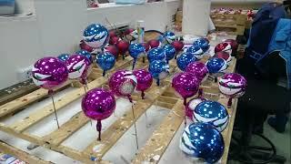 Фабрика ялинкових іграшок Іній 9 школа 2-Е клас