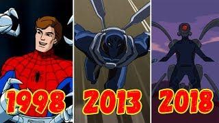 Эволюция Стального Паука (1998-2018)