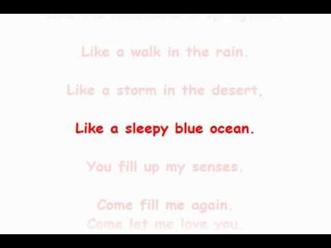 John Denver - Annie's Song with lyrics
