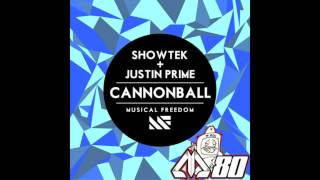 Showtek feat. Justin Prime - Cannonball (Original Mix)