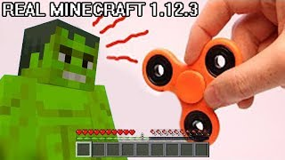 REALISTIC MINECRAFT IN REAL LIFE HULK vs NEW FIDGET SPINNER ~ IRL ANIMATION The Best Episode