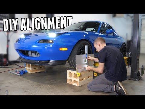 DIY Drift Alignment for the Turbo Miata