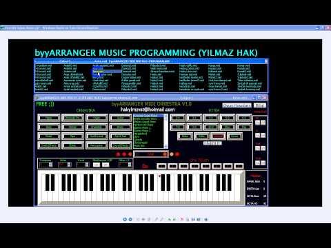 byyARRANGER Midi Orkestra + Midi  Oyun Havaları (free) ücretsiz