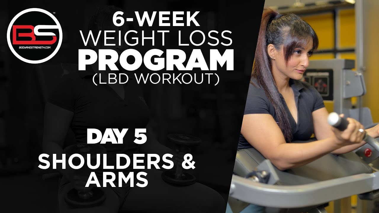 Day 5 - Shoulders & Arms | 6 Week Weight Loss Program