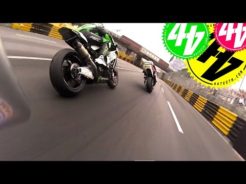 Onboard with Peter Hickman at Macau Grand Prix