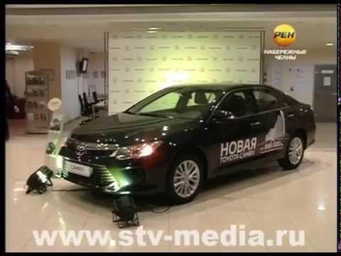 Обновленная Toyota Camry в Набережных Челнах