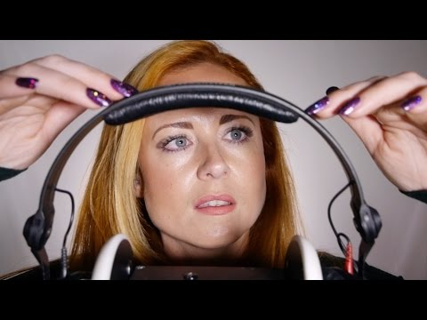 Deep Ear ASMR | Touching Your Headphones | Covering, Cupping, Scratching