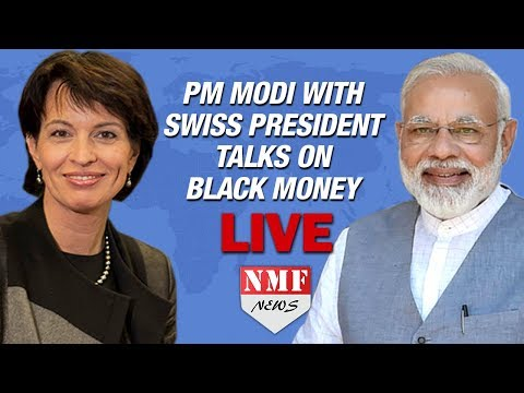 🔴LIVE: PM Modi with Swiss President Mrs. Doris Leuthard at Joint Press Statements