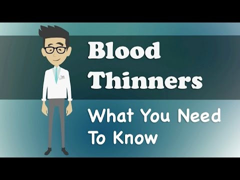 Blood Thinners What You Need To Know