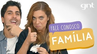 Momento Família com Gabriel Louchard   #33   Fale Conosco   Júlia Rabello