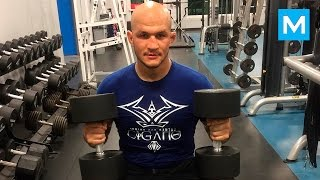 Road to UFC Champion - Junior Dos Santos | Muscle Madness