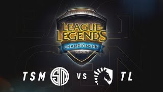 TSM vs. TL - Week 6 Game 1 | NA LCS Summer Split | TSM vs. Team Liquid (2017) thumbnail