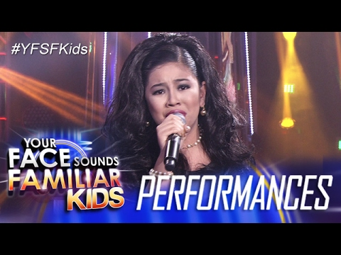 Your Face Sounds Familiar Kids: Elha Nympha as Dulce - Ako A