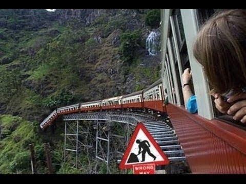 10 SPAVENTOSI INCIDENTI con i TRENI Ripresi in CAMERA 2018 Scontri Auto Treno Catturato in Video