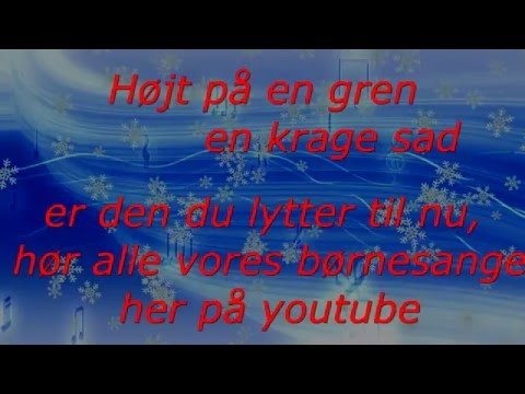 Højt på en gren en Krage sad - Børnenes Sangskat vol.5 Lars Stryg Band