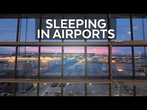 Sleeping at Heathrow Airport | Carne Travels: UK Vlog 11