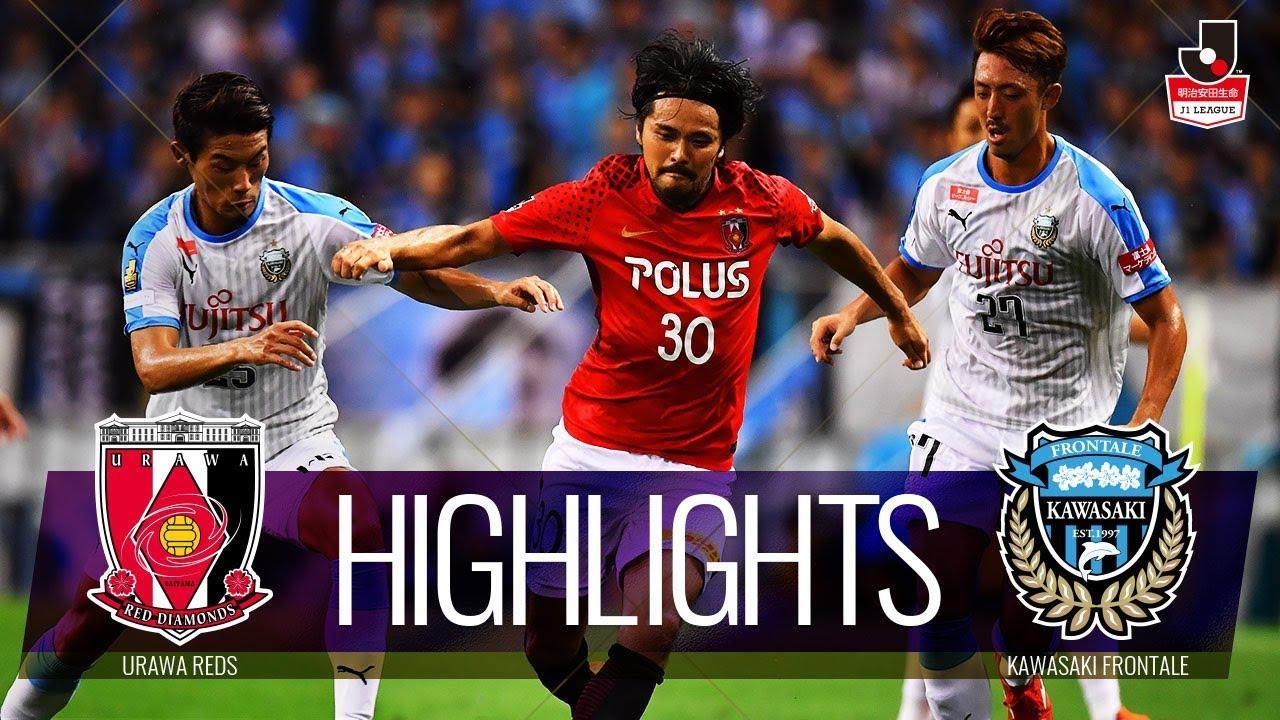 J1 Stats Kawasaki Frontale Vs Urawa Red Diamonds Match 14 Cooljapan Soccer