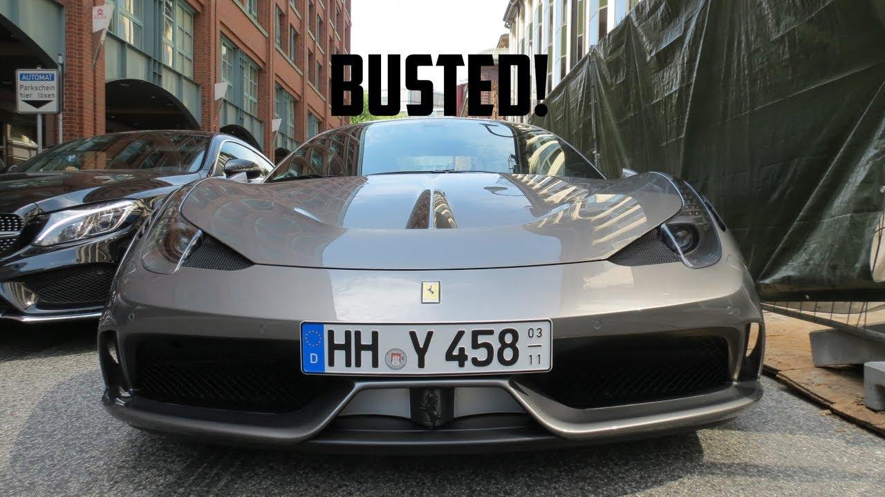 Abschleppdienst Fur Den Ferrari 458 Speciale Jazzy Into Cars