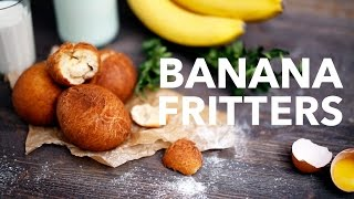 Banana fritters  [BA Recipes]