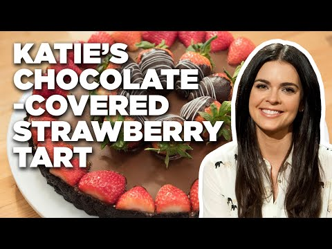 Katie Lee's Chocolate-Covered Strawberry Tart | Food Network