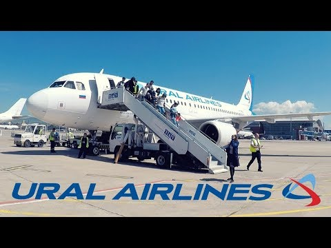 FLIGHT REPORT / URAL AIRLINES A320 / ST PETERSBURG - TBILISI