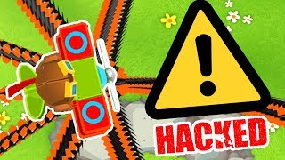⚠️ BLOONS TD 6 BUT IT'S ACTUALLY HACKED ⚠️