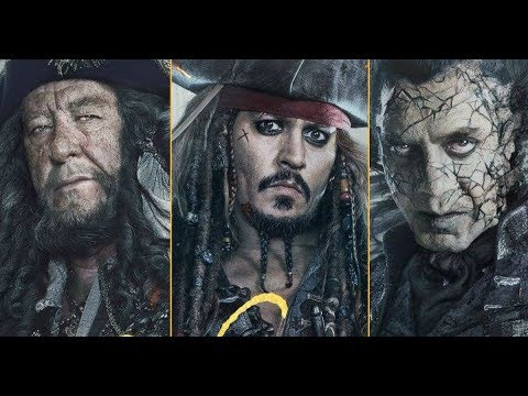 Top 20 Strongest Pirates of the Caribbean Characters   Movies 1-5