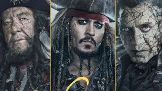 Top 20 Strongest Pirates of the Caribbean Characters | Movies 1-5