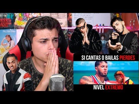 EXTREMO😱 SI CANTAS PIERDES (Bad Bunny, Anuel AA, Ozuna, Arcangel,Daddy Yankee,Tekashi 6ix9ine)