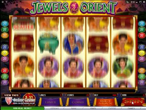 Jewels of the Orient - Online Slot Machine