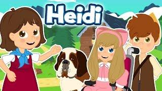 Heidi - Historia completa - Desenho animado infantil com Os Amiguinhos