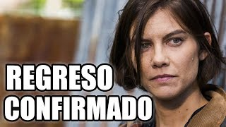 EL REGRESO DE MAGGIE, Y FECHA DE GRABACIONES - The Walking Dead Temporada 9 ( :D )