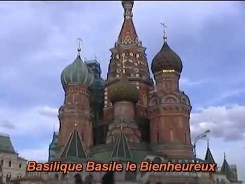 Découverte de Moscou capitale de la Russie
